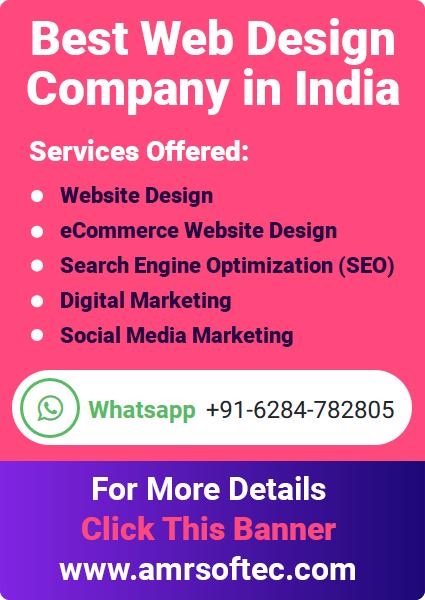 AMR Softec Web Design Company